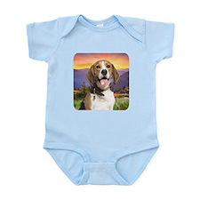 Beagle Meadow Infant Bodysuit