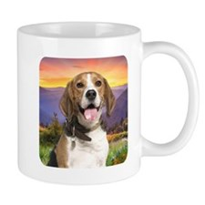 Beagle Meadow Coffee Mug
