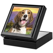 Beagle Meadow Keepsake Box