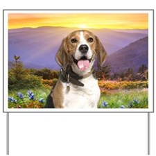 Beagle Meadow Yard Sign