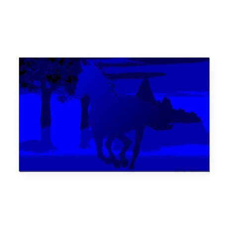 horse4.jpg Rectangle Car Magnet