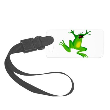 frog.png Small Luggage Tag