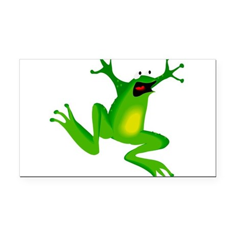 frog.png Rectangle Car Magnet