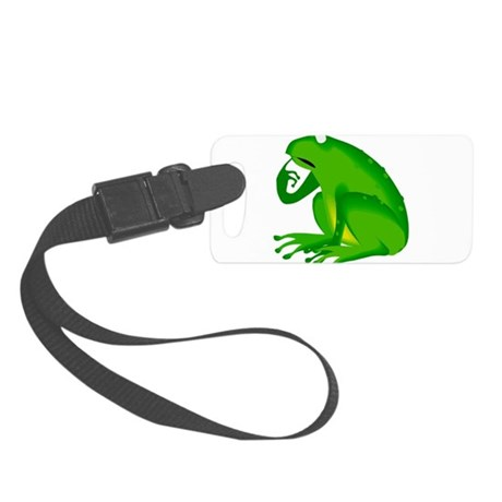 frog6.png Small Luggage Tag