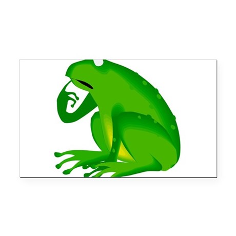 frog6.png Rectangle Car Magnet