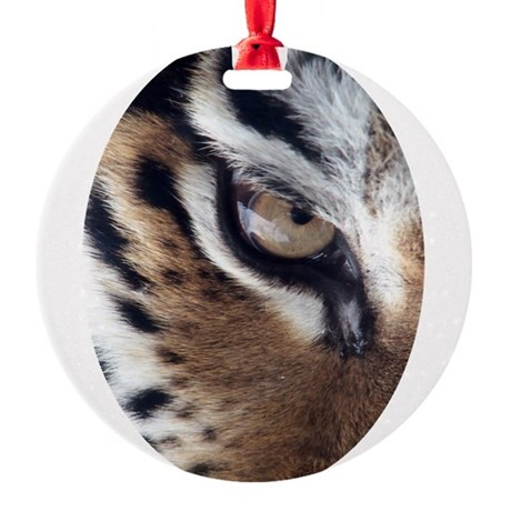 tigereye.jpg Round Ornament