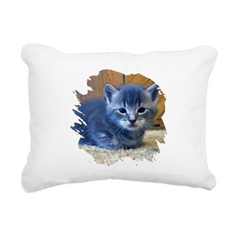 kitten4a.png Rectangular Canvas Pillow