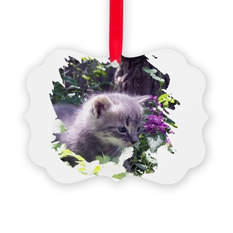 kitten3b.png Picture Ornament