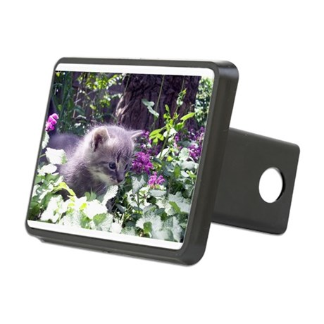 kitten3b.png Rectangular Hitch Cover