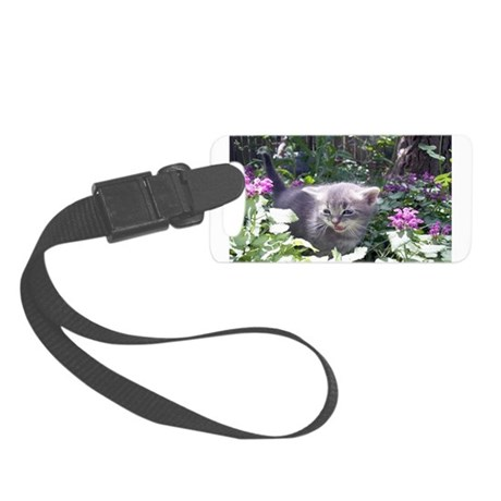 kitten1b.png Small Luggage Tag