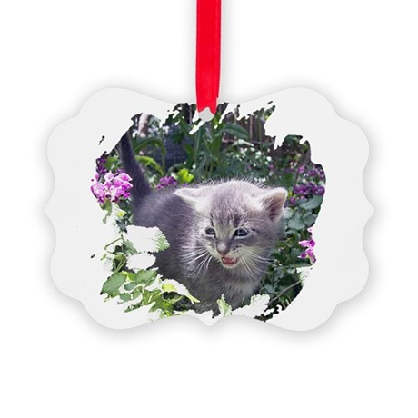kitten1b.png Picture Ornament
