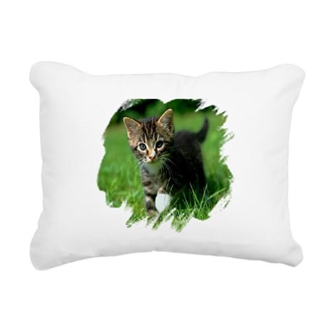 kitten Rectangular Canvas Pillow