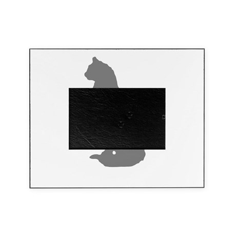Grey Cat Picture Frame