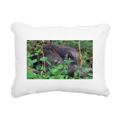 Little Taz Rectangular Canvas Pillow