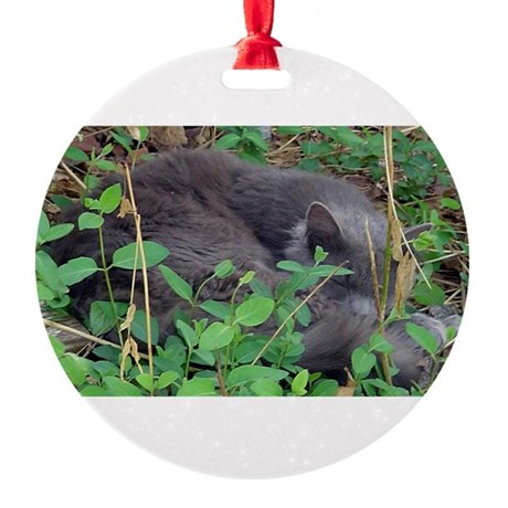 Little Taz Round Ornament