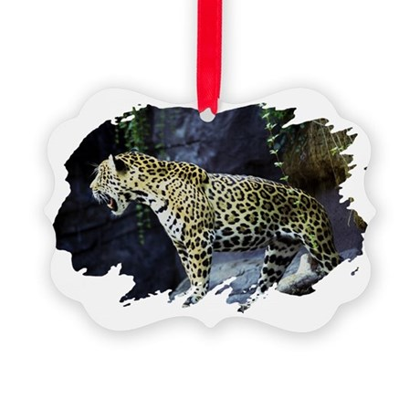 jaguar Picture Ornament