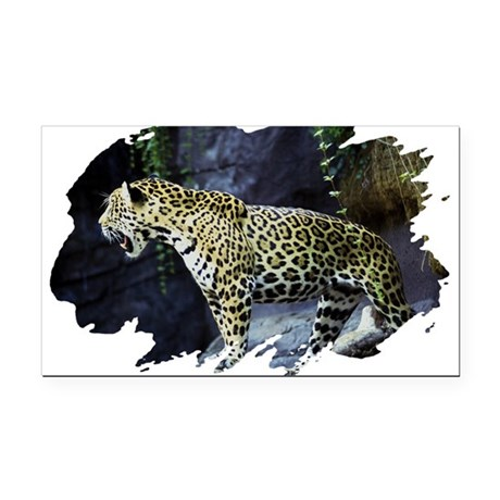 jaguar Rectangle Car Magnet
