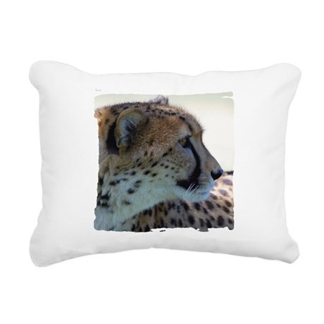 cheeta Rectangular Canvas Pillow