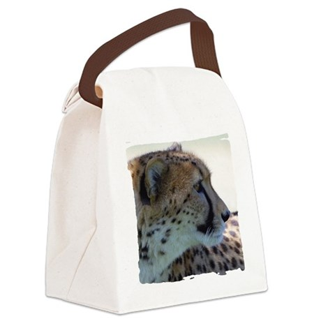 cheeta Canvas Lunch Bag