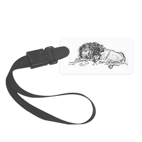 Lion Small Luggage Tag