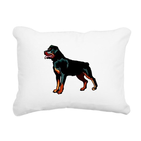 rott Rectangular Canvas Pillow