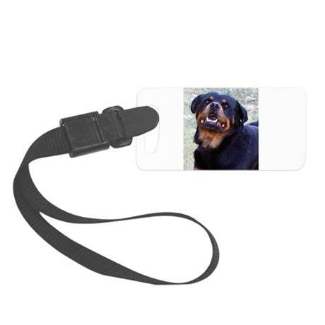Rottweiler Small Luggage Tag