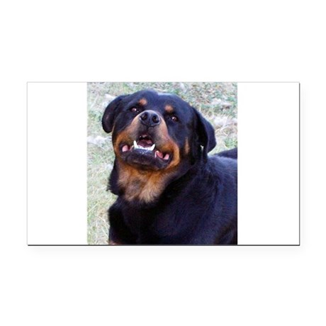 Rottweiler Rectangle Car Magnet