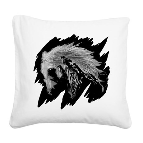 horse10ha.png Square Canvas Pillow