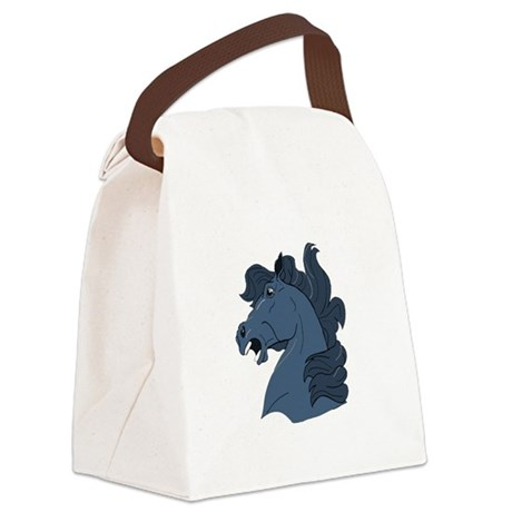 horse7a.png Canvas Lunch Bag