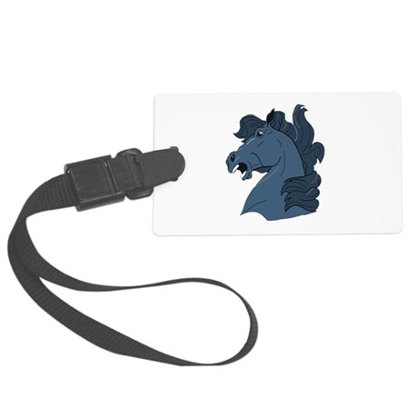horse7a.png Large Luggage Tag
