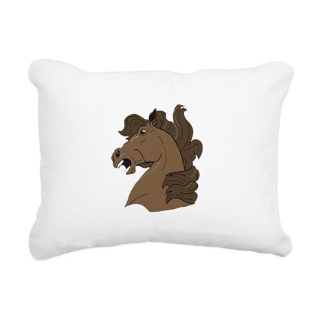 horse7.png Rectangular Canvas Pillow