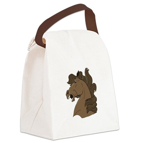 horse7.png Canvas Lunch Bag