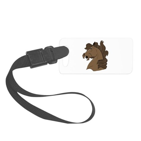 horse7.png Small Luggage Tag