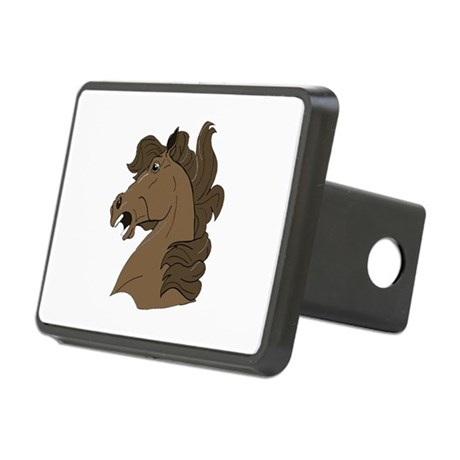 horse7.png Rectangular Hitch Cover