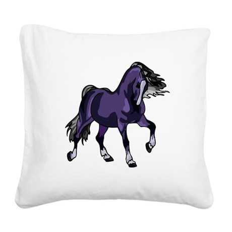 horse5.png Square Canvas Pillow