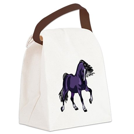 horse5.png Canvas Lunch Bag