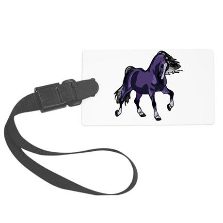horse5.png Large Luggage Tag