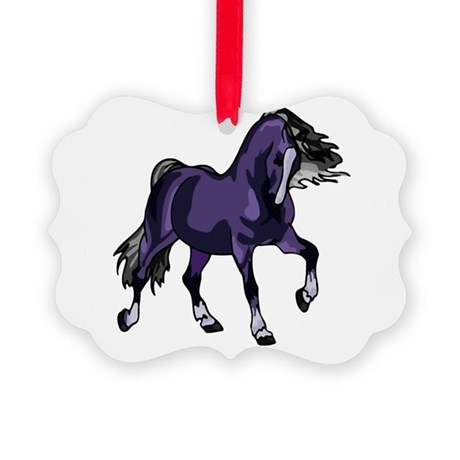 horse5.png Picture Ornament