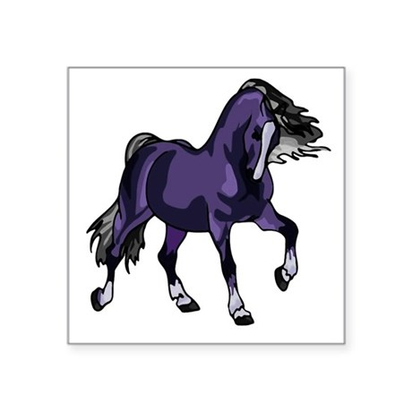 "horse5.png Square Sticker 3"" x 3"""