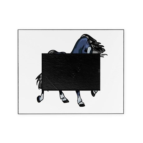 Blue Horse Picture Frame
