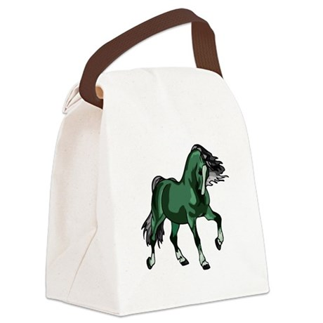 horse4a.png Canvas Lunch Bag