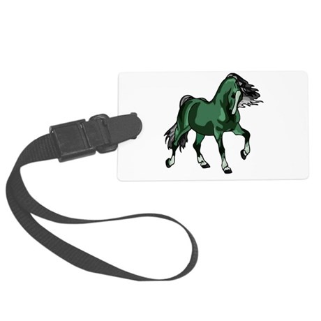 horse4a.png Large Luggage Tag