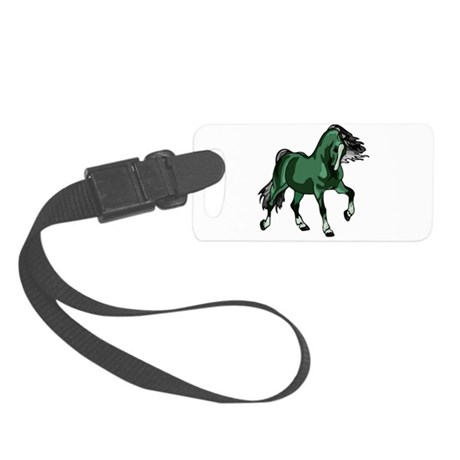 horse4a.png Small Luggage Tag