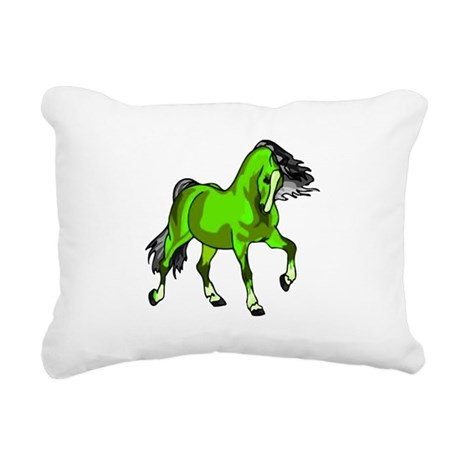 horse4.png Rectangular Canvas Pillow