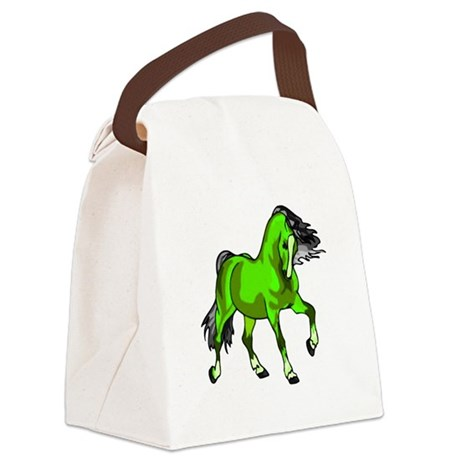 horse4.png Canvas Lunch Bag