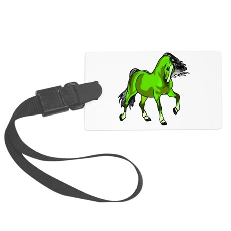 horse4.png Large Luggage Tag