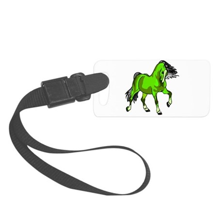 horse4.png Small Luggage Tag