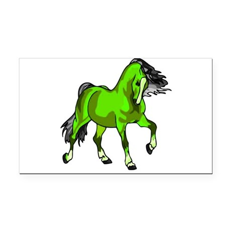horse4.png Rectangle Car Magnet