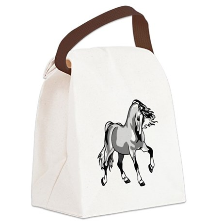 horse3a.png Canvas Lunch Bag