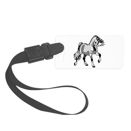 horse3a.png Small Luggage Tag